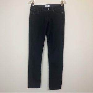PAIGE Skyline Skinny Dark Denim Jeans, 27